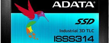 ADATA ISSS314: SSD de grado industrial disponible con memoria 3D MLC/3D TLC NAND Flash