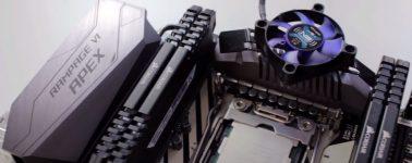 Asus rediseña el disipador del VRM de la X299 ROG Rampage VI Apex