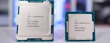 El Intel Core i7-7700K es mejor que el Core i7-7800X en Gaming