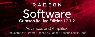 Radeon Software Crimson ReLive Edition 17.7.2: Enhanced Sync y mucho más