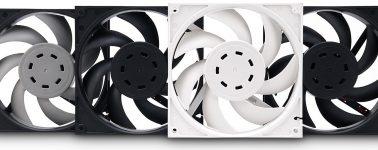 EK Vardar EVO: Ventiladores de alto rendimiento de 120/140mm