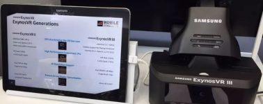 Gafas VR de Samsung con panel 1440p @ 90 Hz o 4K @ 75 Hz y SoC ExynosVR III