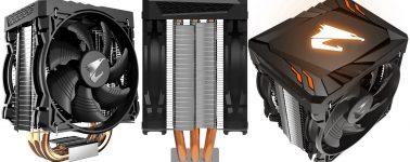 Gigabyte Aorus ATC 700: Disipador CPU de doble ventilador e iluminación RGB