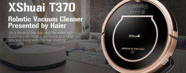 Haier XShuai T370: Aspiradora inteligente con limpieza en mojado por 149 euros