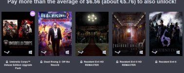 Humble Bundle: 7 juegos de Capcom por 5.76 euros