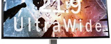 LG 34UC99-W: Monitor con panel IPS UWQHD curvo de nada menos que 34 pulgadas