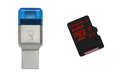 MobileLite Duo 3C y microSD UHS I U3 Oficial 1