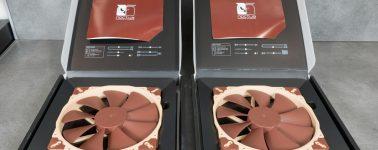 Review: Noctua NF-A12x15, NF-A4x20 y NF-A20 (ventiladores)