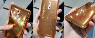Filtrado el Nokia 8 en un muy llamativo color: dorado/cobre