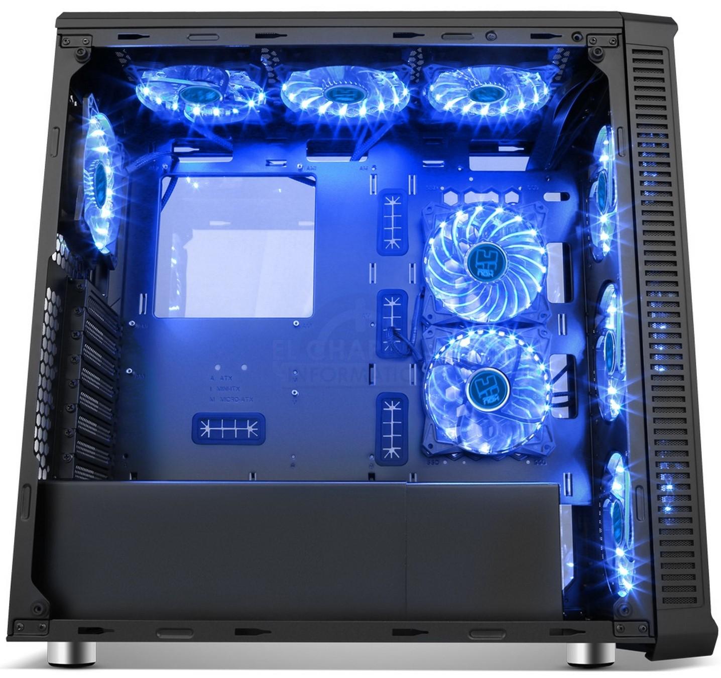 NOX HUMMER TG RGB - Matipro.PT