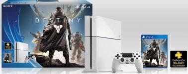 Sony lanzará una nueva versión de la PlayStation 4 Pro en color blanco junto con Destiny 2