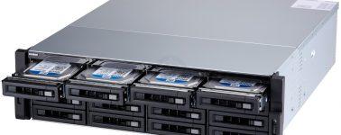 QNAP TS-x73U: NAS con CPU AMD embebida, 2 puertos 10GbE y 2 puertos M.2