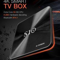 R-TV BOX S10: Android TV con KODI 17.3, 8x A53 + 2GB LPDDR4 y soporte 4K por 45€