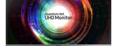 Samsung U32H850: Monitor gaming QLED 4K de 32 pulgadas a 4ms con AMD FreeSync