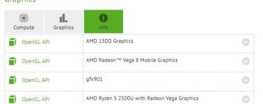 Los Ryzen 7 2700U y Ryzen 5 2500U incluyen gráficos Vega 10 y Vega 8