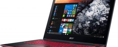Acer Nitro 5 Spin: Portátil gaming delgado con CPU Intel Coffee Lake-U