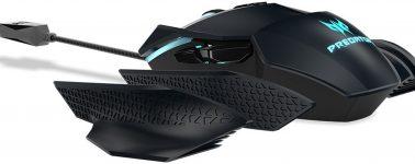 Acer Predator Cestus 500: Ratón gaming con iluminación RGB