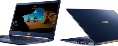 Acer Swift 5, Spin 5 y Switch 7 Black Edition: Convertibles con Windows 10