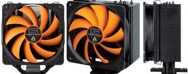 Arctic Freezer 33 Penta: Disipador CPU semi-pasivo de color negro y naranja