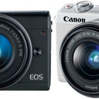 Canon EOS M100: Compacta con sensor de 24.2 MP limitada a vídeo 1080p