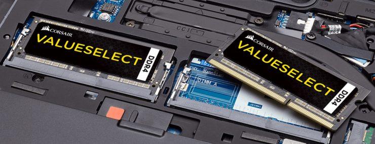 Corsair VS SO DIMM 16 Go 2x8 DDR4 2133 CMSO16GX4M2A2133C15 740x285 0
