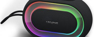 Creative Halo: El altavoz portátil para ser el rey de la fiesta con sus RGB