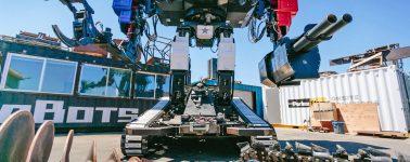Así es el Eagle Prime, el mech americano que se enfrentará en combate con el Kuratas