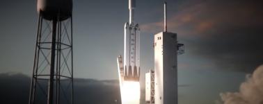 SpaceX lanzará en Noviembre el primer Falcon Heavy