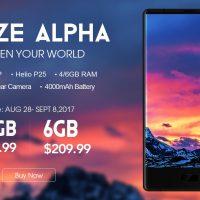 El Maze Alpha se actualiza con 6GB de RAM y 64GB de almacenamiento por 177 euros