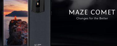 Maze Comet: Terminal elegante con pantalla de 18:9 y batería de 4000 mAh