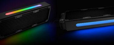 Thermaltake Pacific RL360 Plus RGB: Radiador de aluminio con iluminación RGB