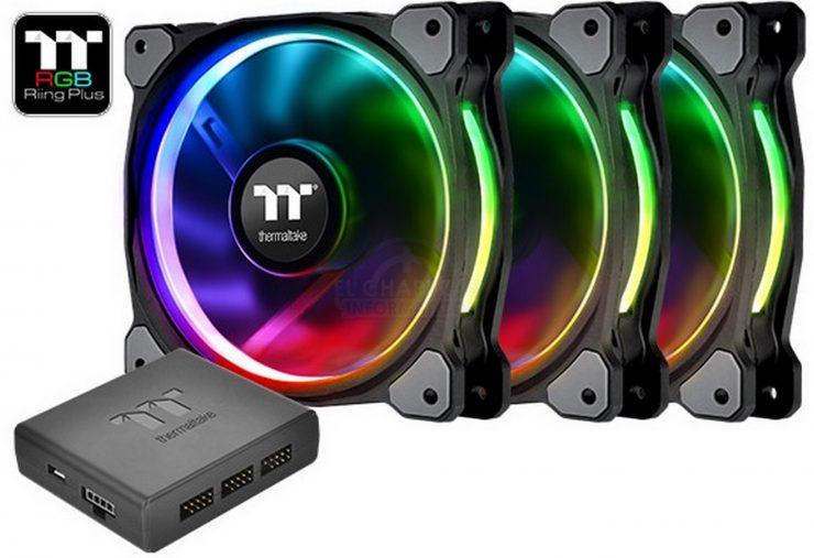 Thermaltake Riing Plus 12 LED RGB Radiator 1 740x507 0