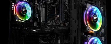 Thermaltake Riing Plus 12 LED RGB Radiator: Ventiladores RGB para radiadores
