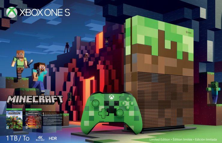 Xbox One S Minecraft Edition 740x478 1