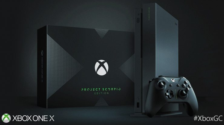 Xbox One X Project Scorpio Edition 740x415 0