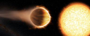 El Telescopio Hubble detecta moléculas de agua en la estratosfera de un planeta