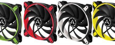 Arctic BioniX F120 y F140: Ventiladores de alto rendimiento con 10 años de garantía