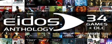 Eidos Anthology: 34 juegos + DLC's por 51.99 euros