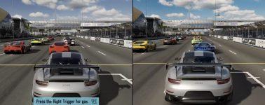 Forza Motorsport 7 (demo) en PC vs Xbox One X vs Xbox One