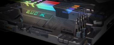 GeIL lanza sus memorias EVO X ROG Certified con iluminación RGB
