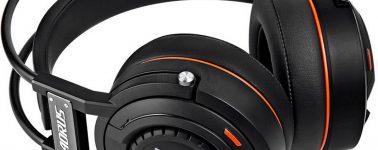 Gigabyte Aorus H5: Auriculares gaming con berilio e iluminación RGB
