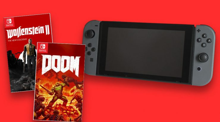 Nintendo Switch DOOM Wolfenstein 740x411 0