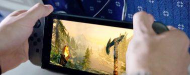 Skyrim llegará a la Nintendo Switch el 17 de Noviembre