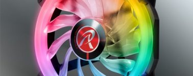 Raijintek Iris 12 Rainbow RGB: Ventiladores con iluminación RGB y control a distancia