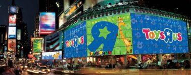 La tecnología y las compras por Internet llevan a Toys 'R' Us a la bancarrota