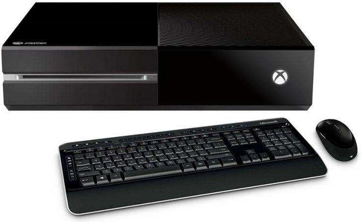 Xbox One ratón y teclado 740x454 0