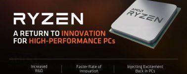 AMD descataloga las CPUs AMD Ryzen de primera generación