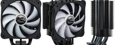 Alpenföhn Ben Nevis Advanced Black RGB: Disipador CPU silencioso con ventilador RGB