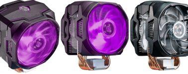 Cooler Master MasterAir MA610P y MA410P, nuevos disipadores RGB