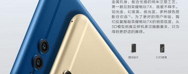 Huawei Honor 7X anunciado, 5.93″ FHD+, Kirin 659 y doble cámara trasera